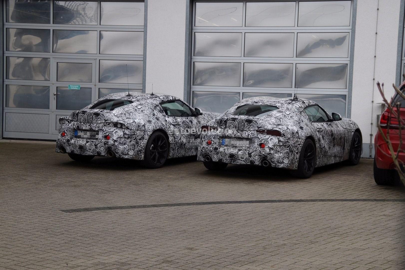 Toyota Supra 2019 Bmw Z4