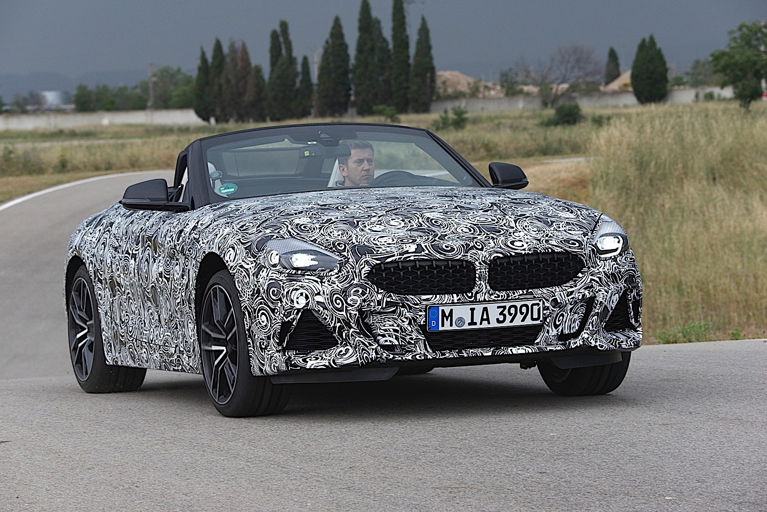 2019 bmw z4 confirmed to go into production towards the end of 2018 autoevolution. Black Bedroom Furniture Sets. Home Design Ideas