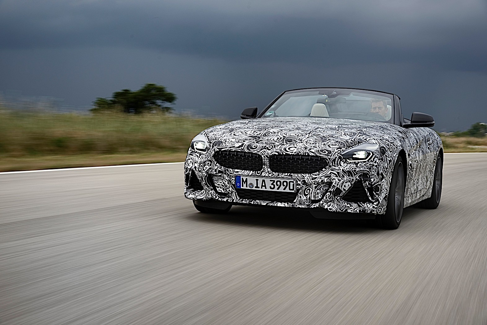 2019 Bmw Z4 Headlight Taillight Design Reaveled By Patent