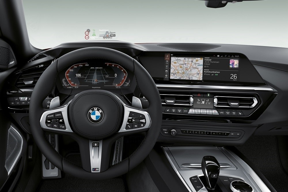 2019 Bmw Z4 M40i Revealed In Official Photos Ahead Of