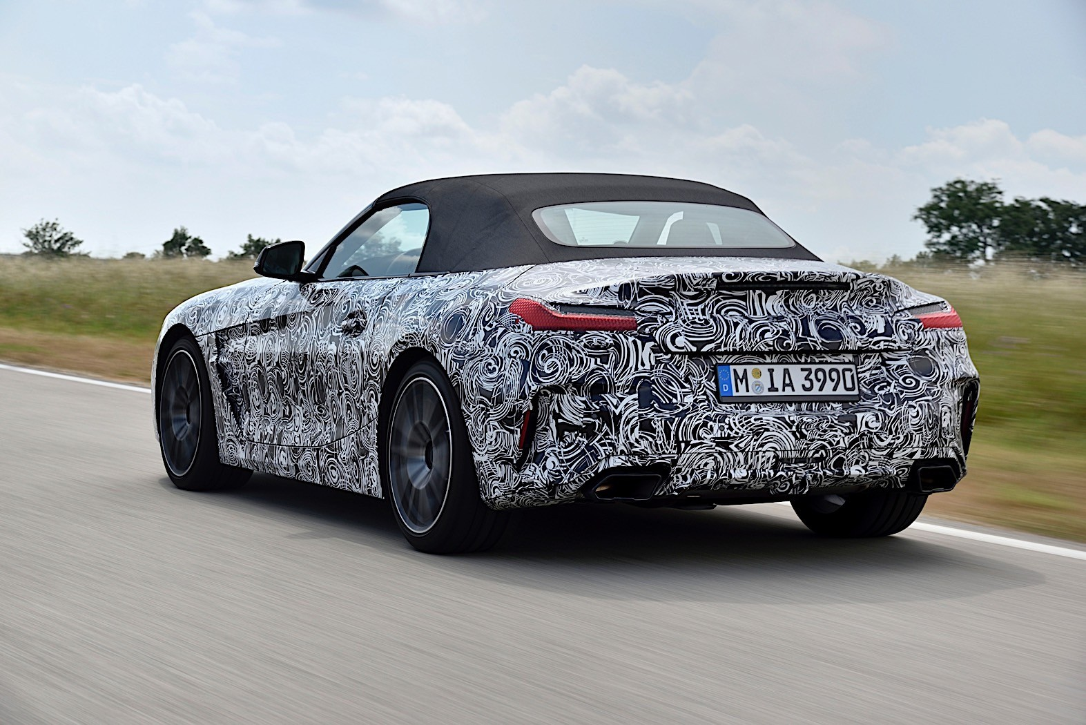 2019 BMW Z4 Roadster Goes Official in Camouflage Photo ...