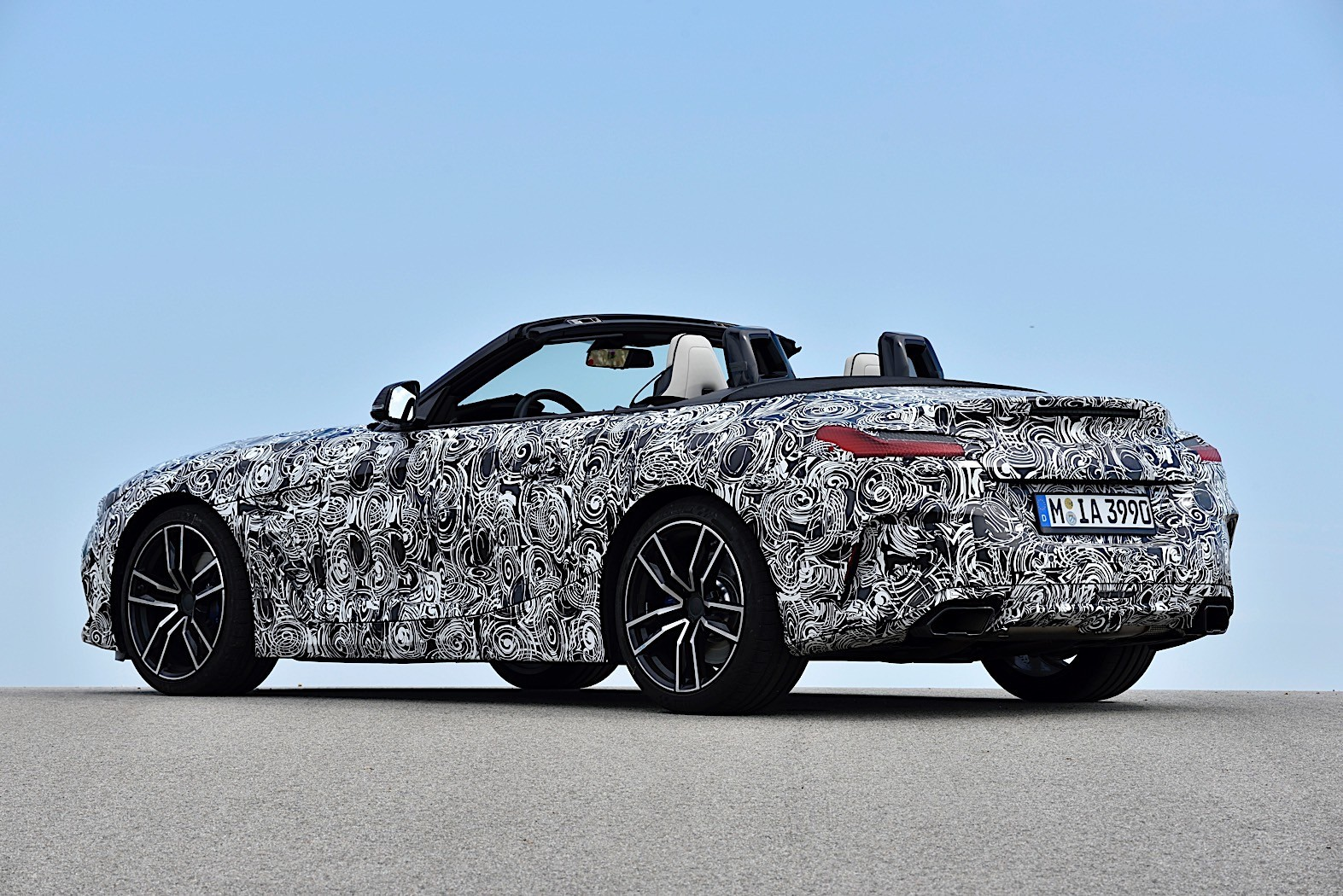2019 Bmw Z4 Roadster Goes Official In Camouflage Photo