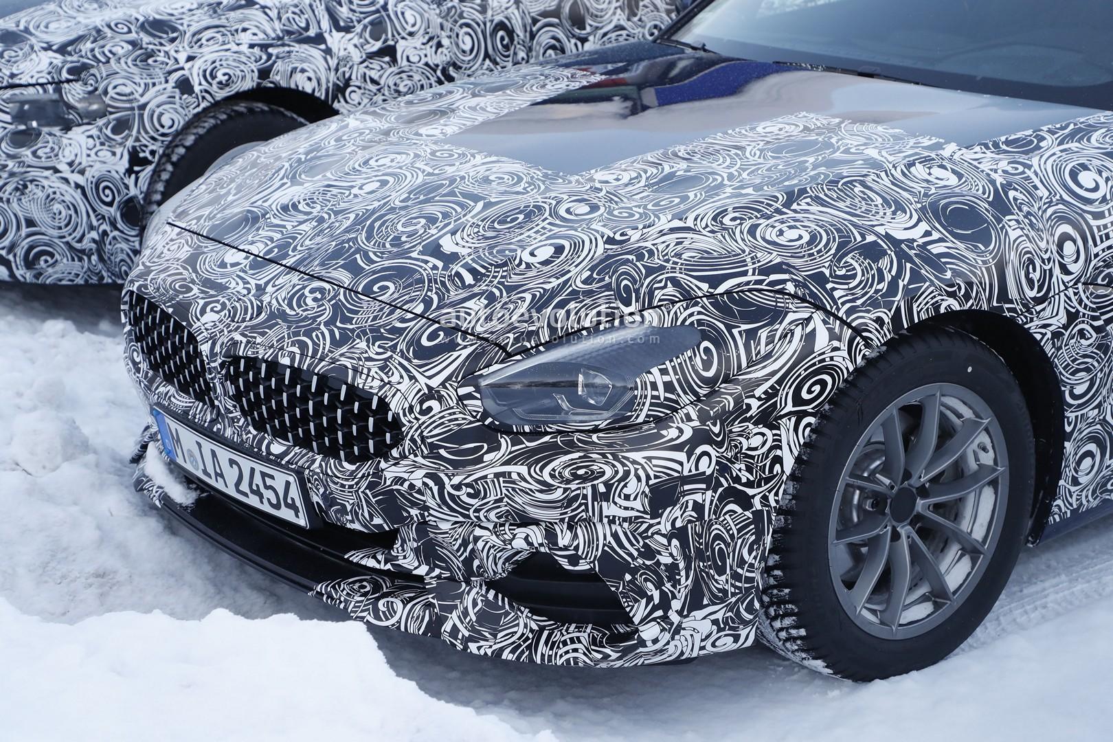 2019 BMW Z4 Spied Next to Toyota Supra and Next 3 Series ...