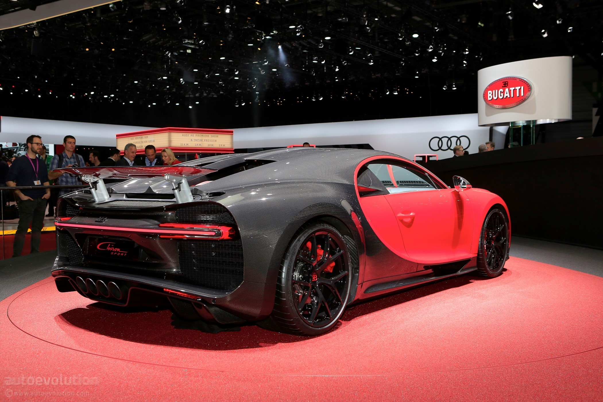 2019 Bugatti Chiron Sport Arrives In Geneva Sporting 500 Km H