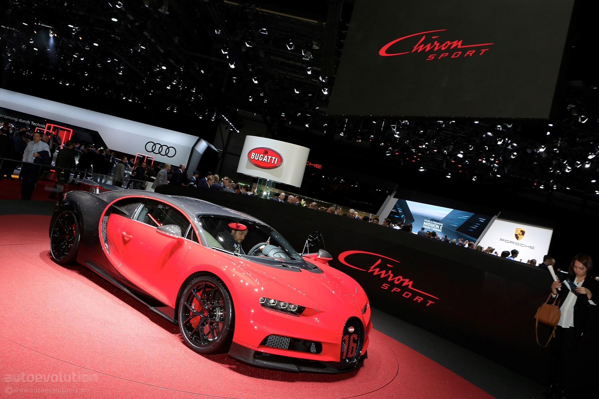 Auto Add Ons >> 2019 Bugatti Chiron Sport Arrives In Geneva Sporting 500 Km/h Speedometer - autoevolution