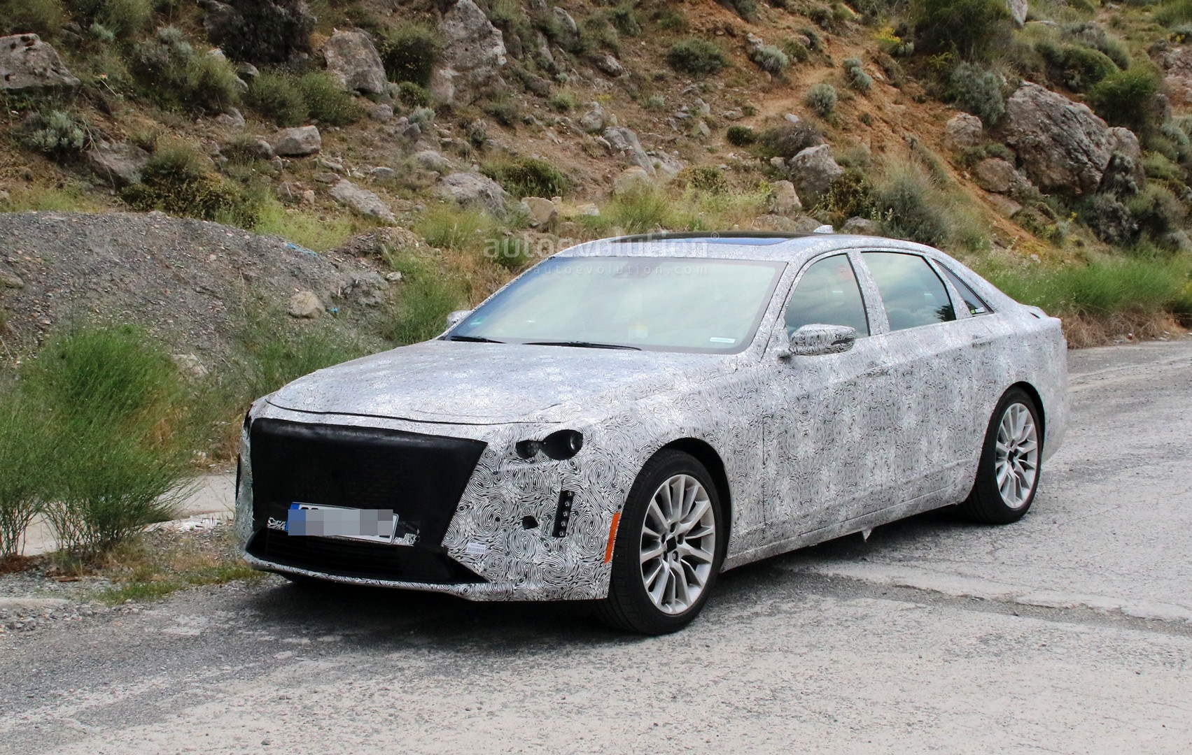 Car Dealerships In Ct >> 2019 Cadillac CT6 Facelift Makes Spyshots Debut, Has Escala Styling - autoevolution