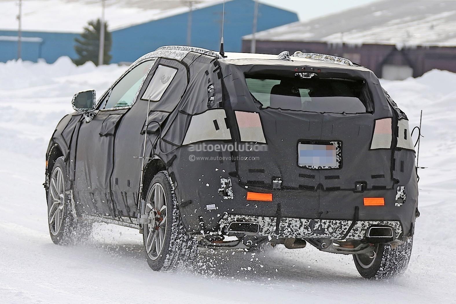 2019 Cadillac XT3 Finally Starts Testing, Looks Monolithic ...