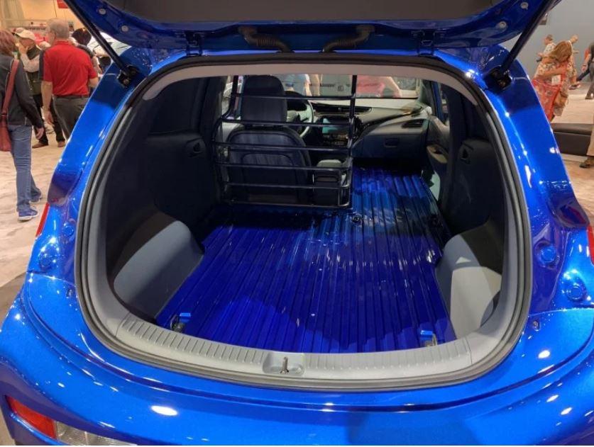 2019 Chevrolet Bolt Ev Turned Into Panel Van For Sema Show