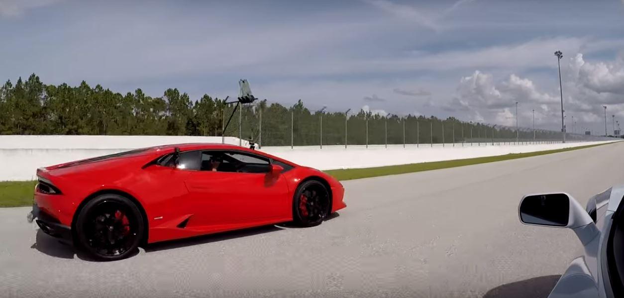 ... 2019 Chevrolet Corvette ZR1 drag races Lamborghini Huracan ... & Why the Huracan Doesnu0027t Have Lambo Doors like the Aventador ...