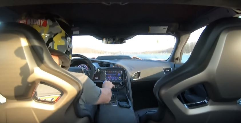 2019 Chevrolet Corvette Zr1 Manual Does 109s 14 Mile Run On Stock