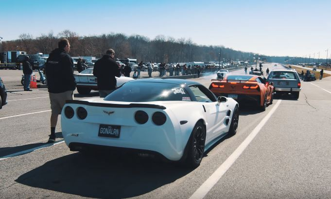 Update 2019 Chevrolet Corvette Zr1 Vs Tuned C6 Zr1 14 Mile Drag