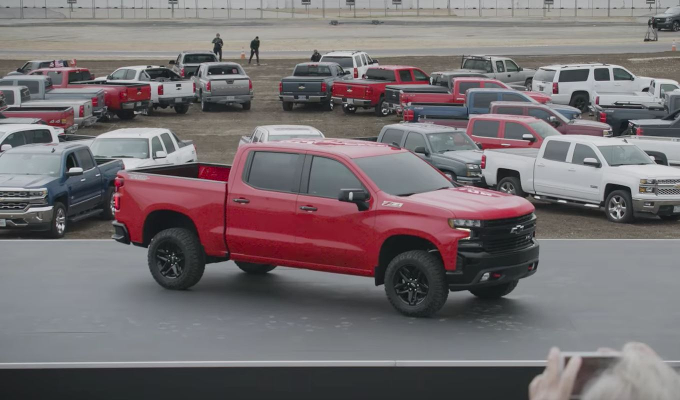 2019 Chevrolet Silverado Debuts In Texas Gets Trail Boss Trim Level