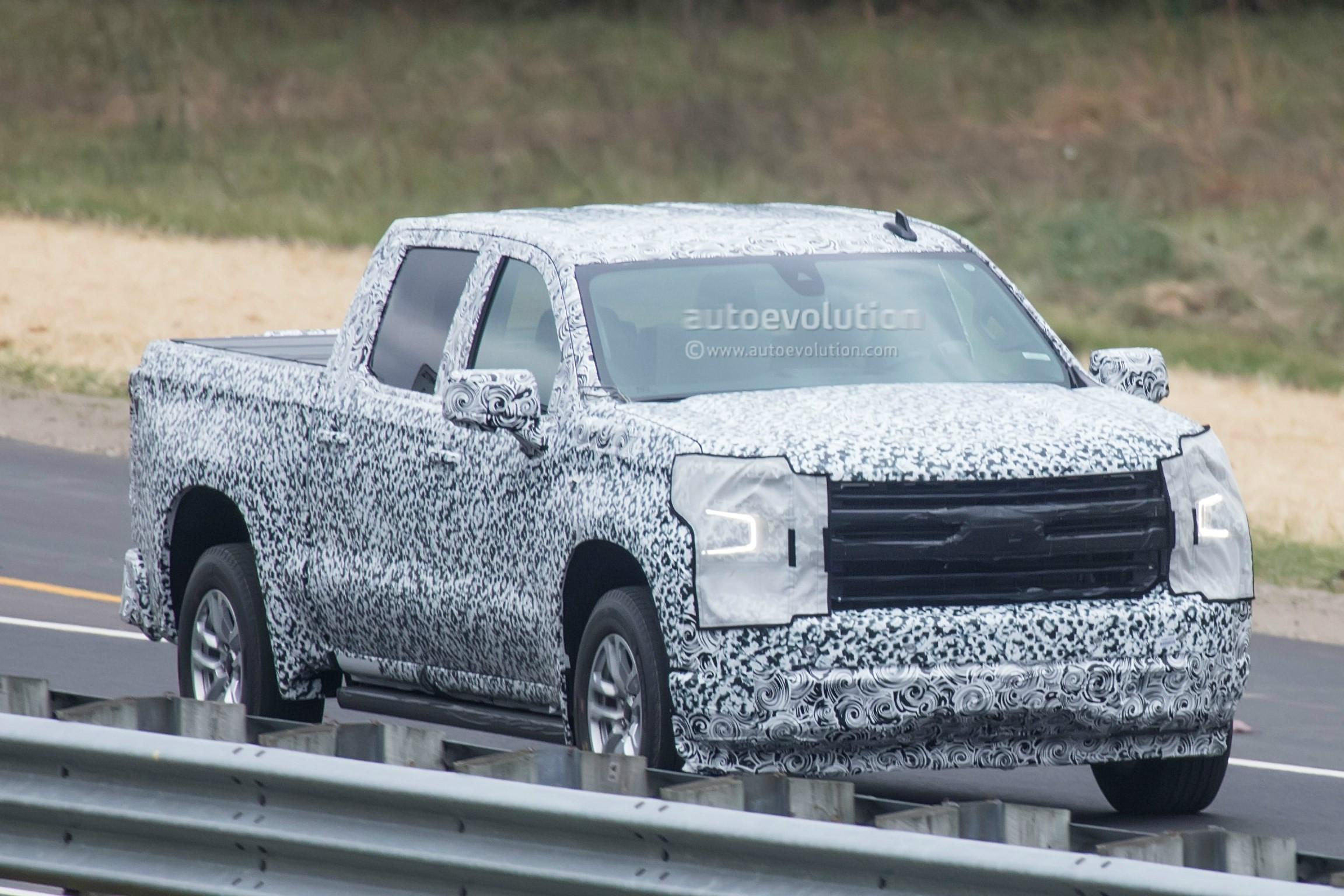 Spyshots: 2019 Chevrolet Silverado Shows More Design ...