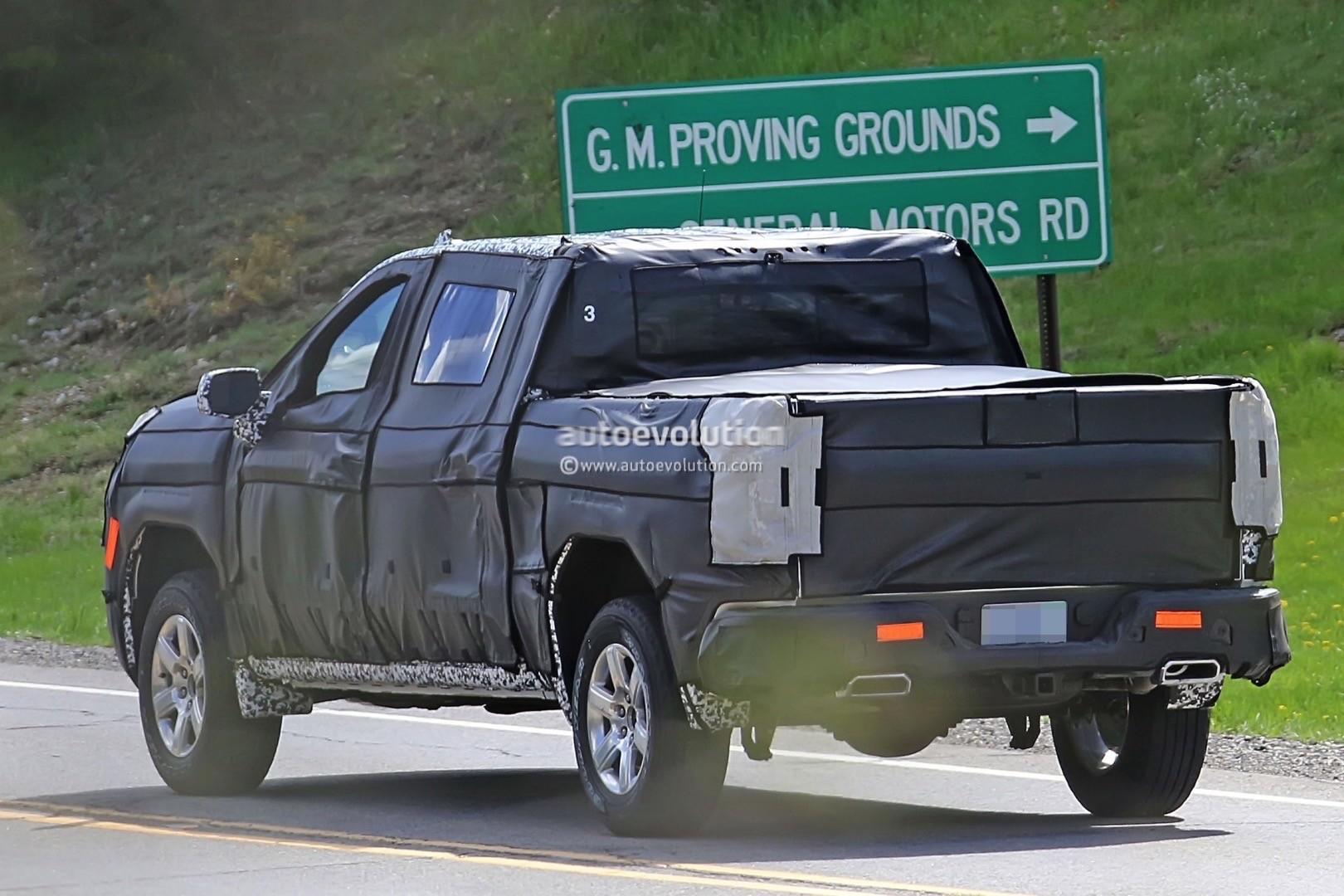 2019 Chevrolet Silverado Spied Dual And Side Exit