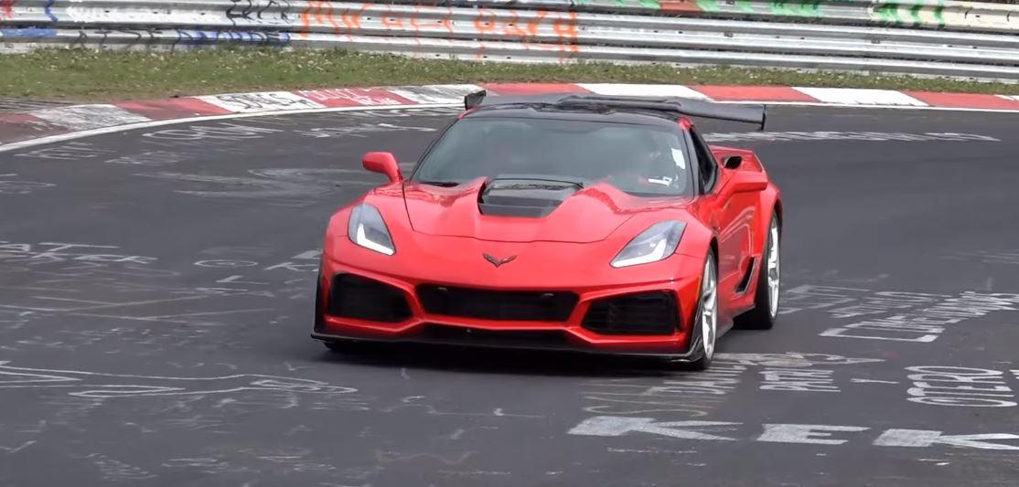 2019 Corvette Zr1 Setting Nurburgring Lap Time Aims At