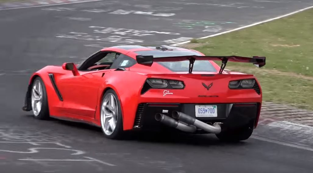 2019 Corvette ZR1 Setting Nurburgring Lap Time, Aims at