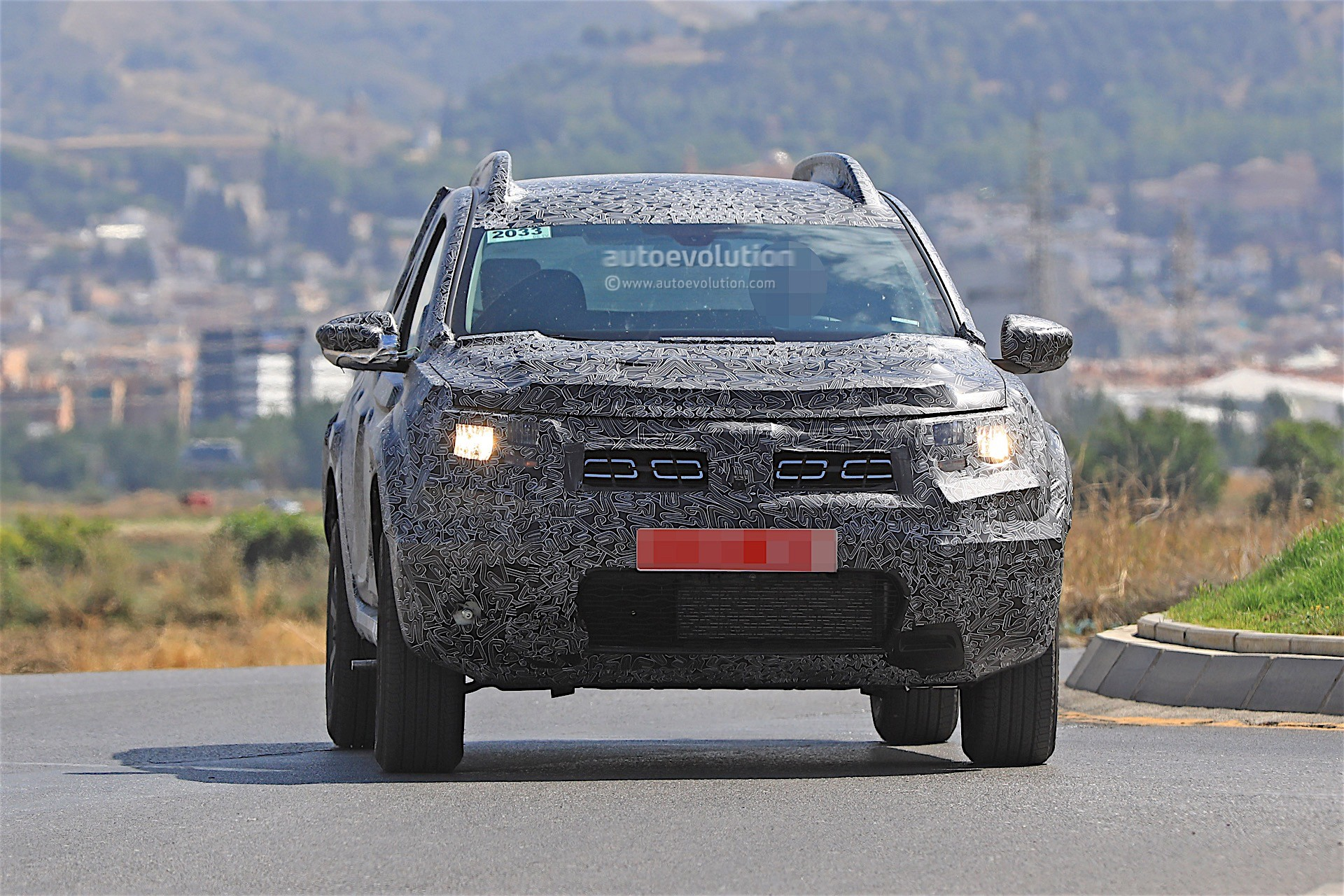2019 dacia duster spied for the first time prototype. Black Bedroom Furniture Sets. Home Design Ideas