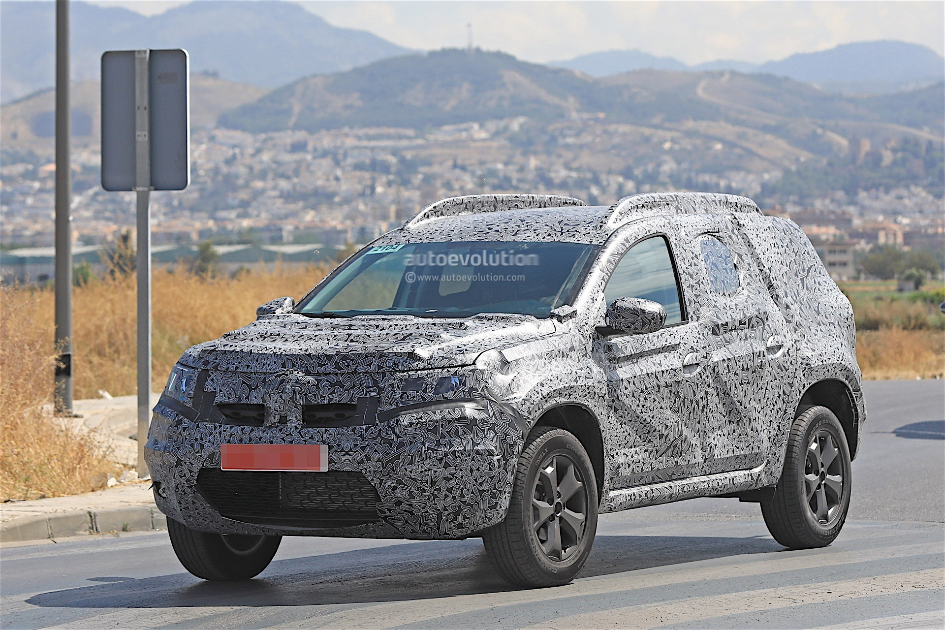 2019 Dacia Duster Spied For the First Time, Prototype ...