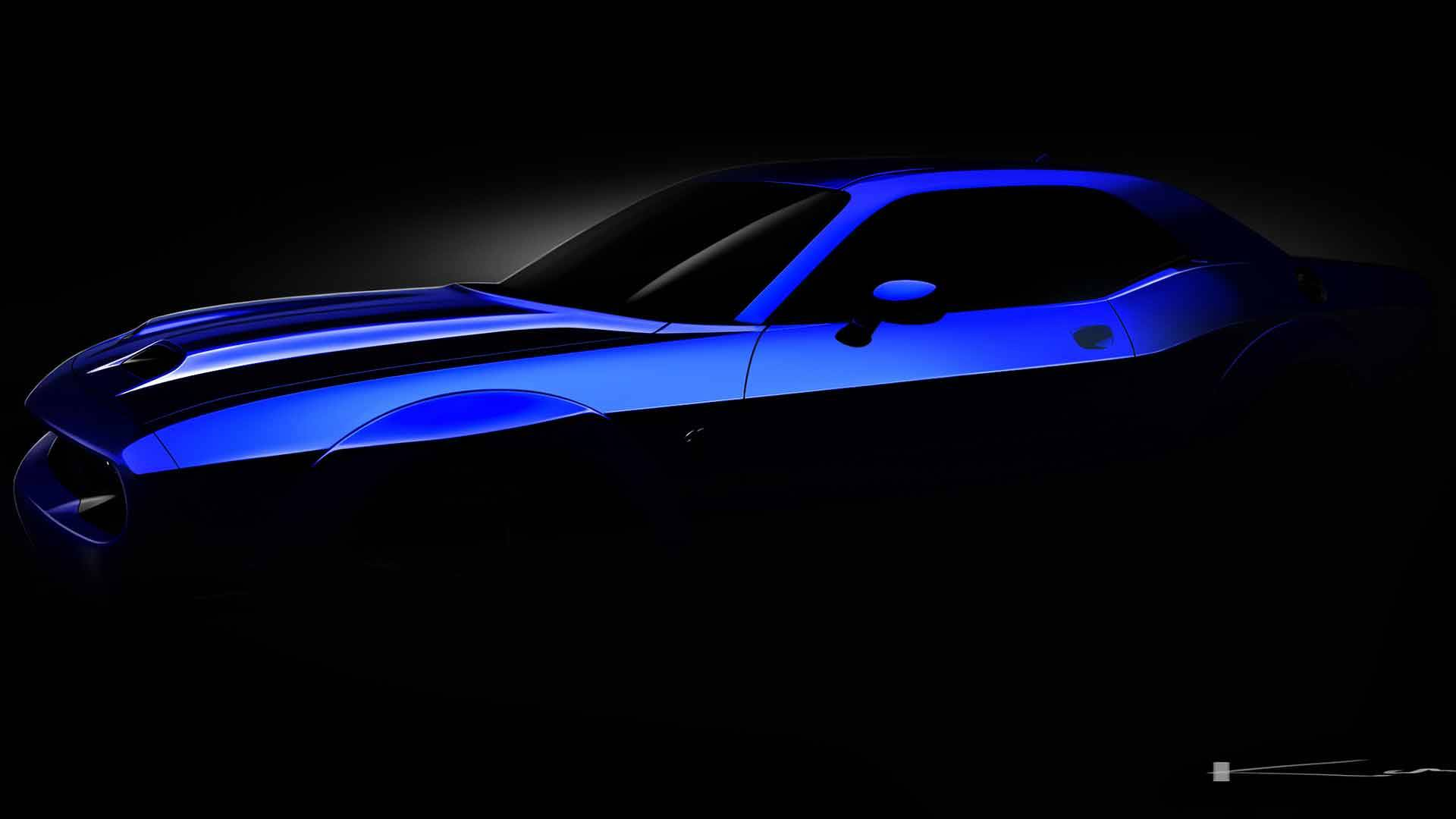 Srt Hellcat Charger >> 2019 Dodge Challenger SRT Hellcat Previewed Ahead of Summer Reveal - autoevolution