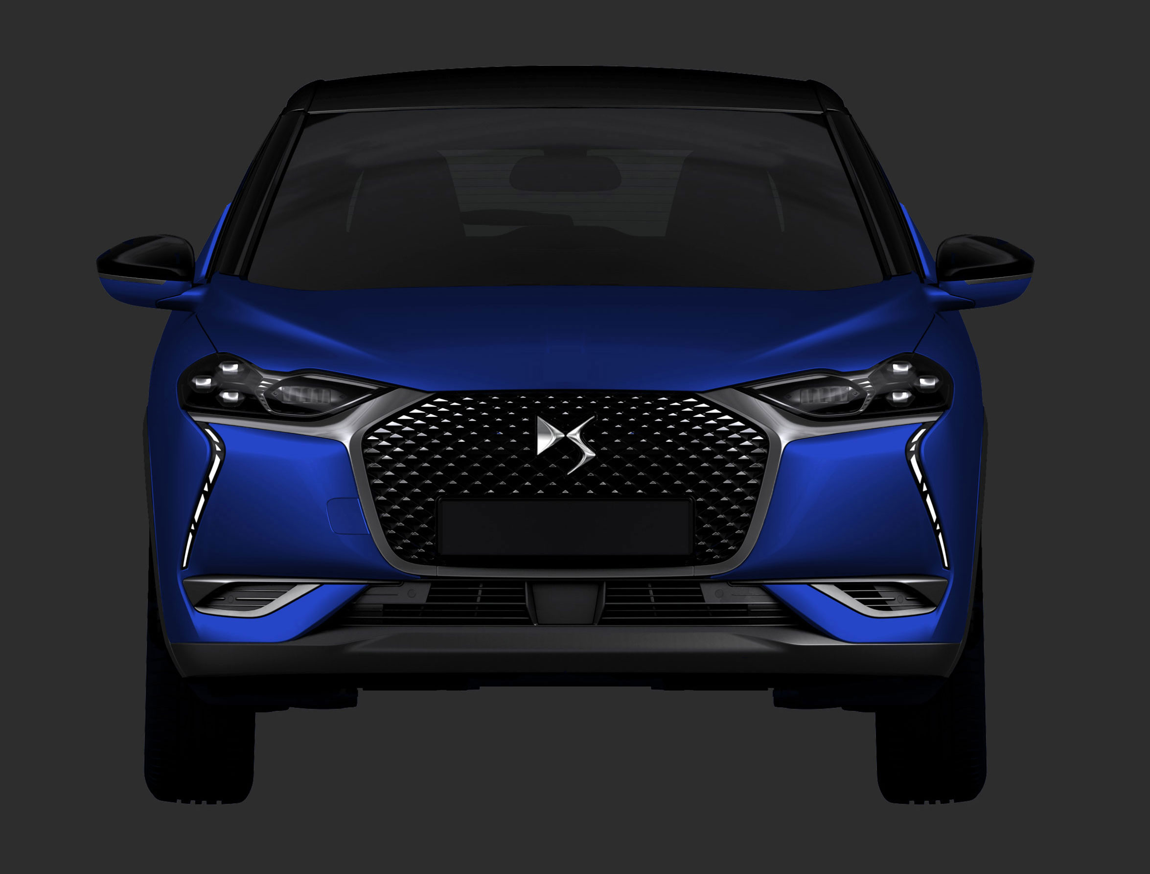 2019 Ds 3 Crossback Leaked By Design Patent Looks Exquisite Autoevolution
