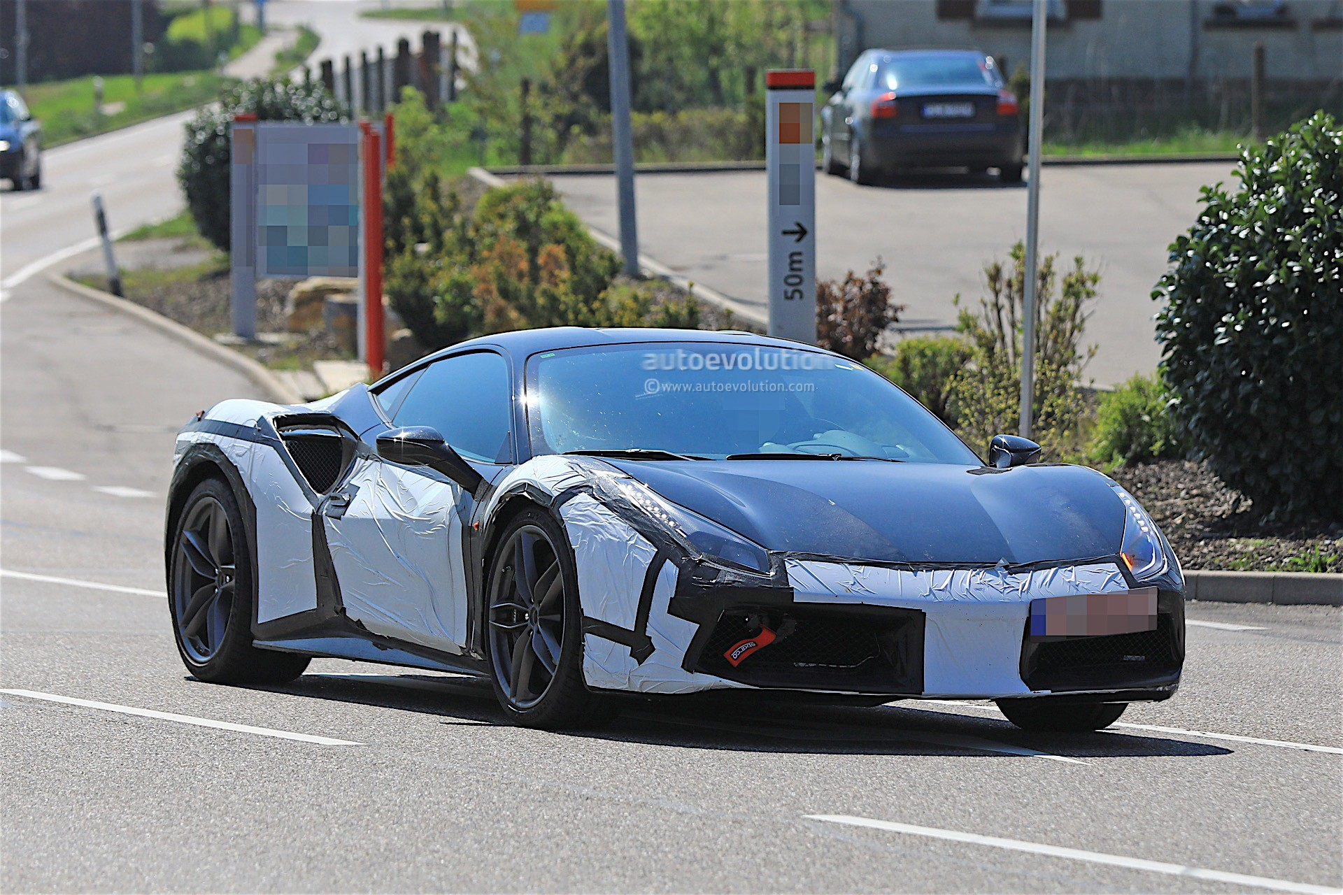 2019 Ferrari Prototype Spotted Testing With 488 GTB-Based ...