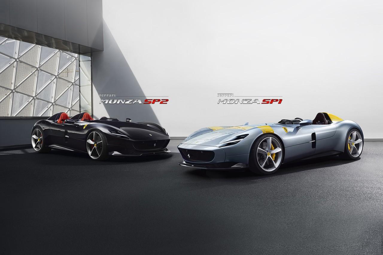 2019 Ferrari Monza Sp1 Amp Monza Sp2 Detailed In Official Photo Gallery Autoevolution
