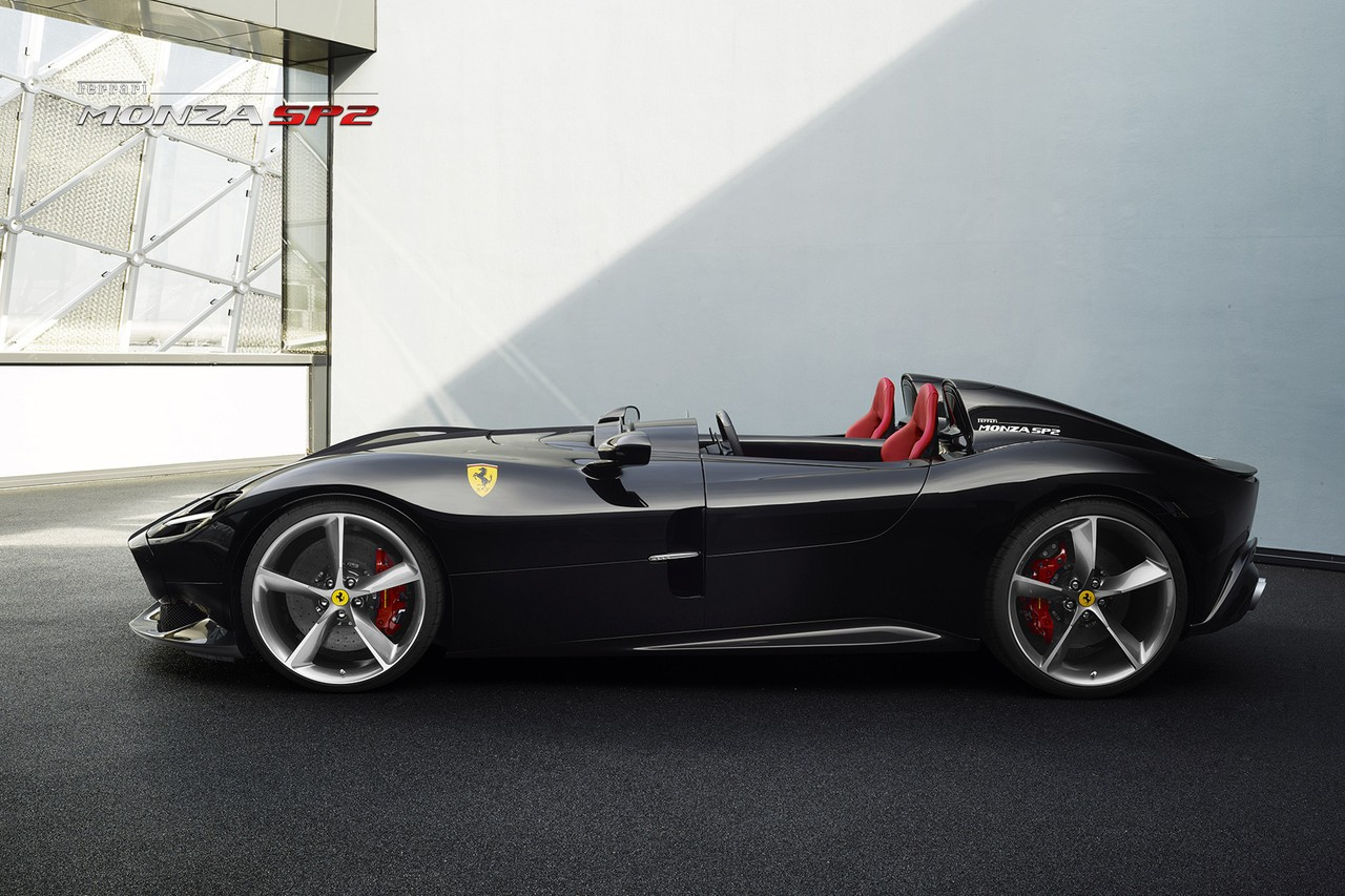 2019 Ferrari Monza Sp1 Amp Monza Sp2 Detailed In Official Photo Gallery Autoevolution