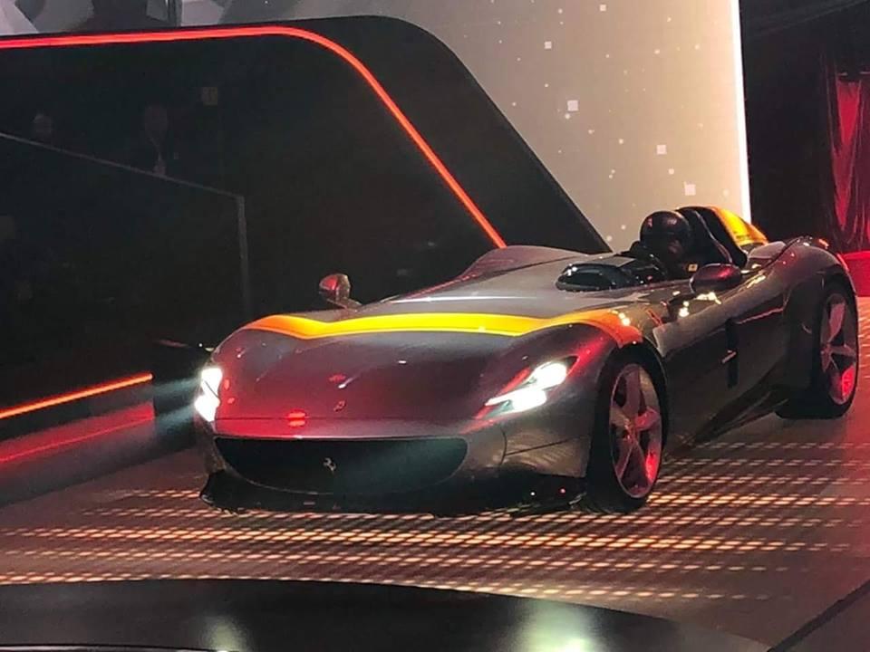 2019 Ferrari Monza SP1 Revealed Alongside Monza SP2 - autoevolution