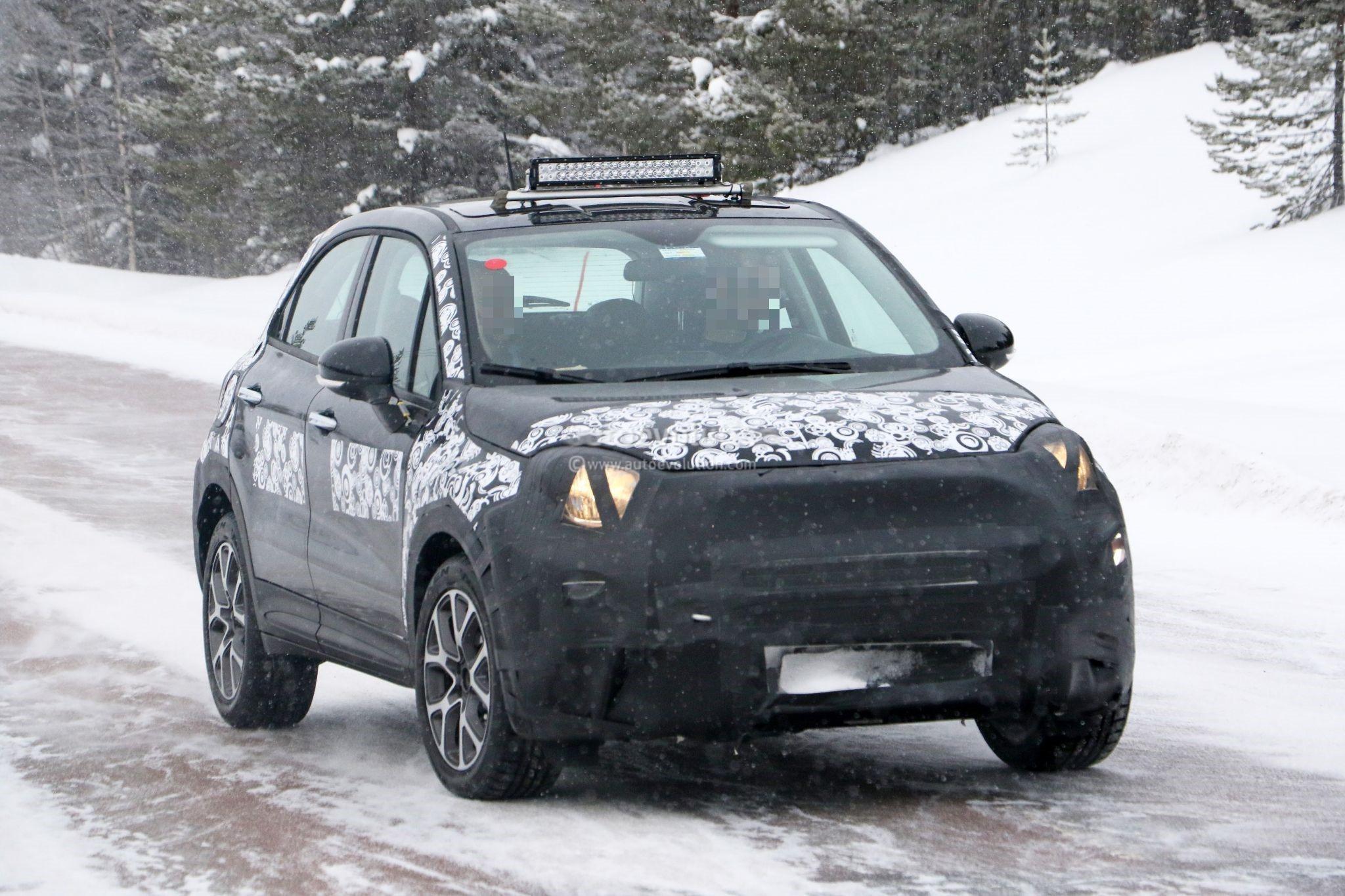 Viagra In Fuel Tank Makes The New Fiat 500x Bigger In