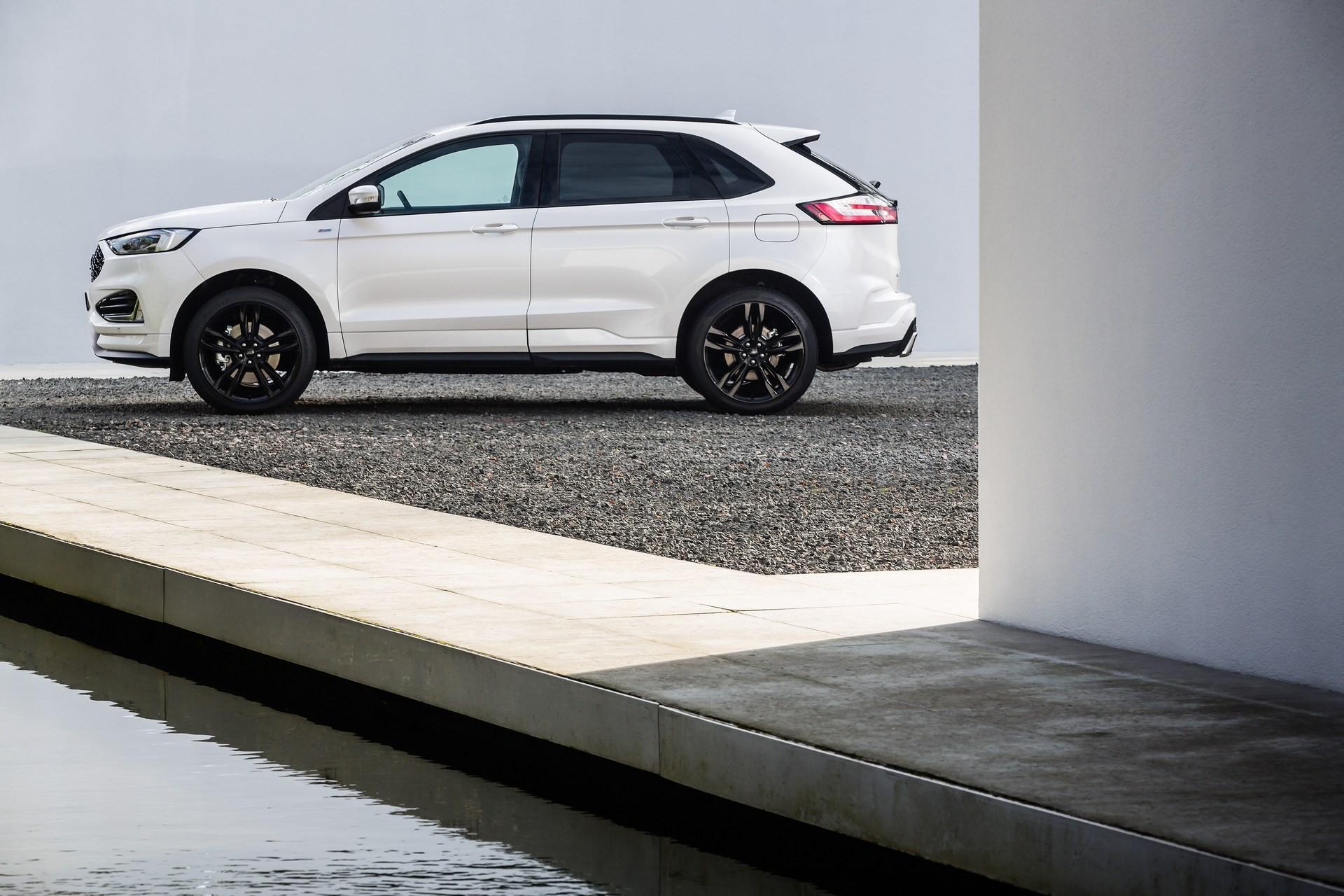 2019 Ford Edge Makes European Debut With Powerful EcoBlue Bi-Turbo Diesel - autoevolution