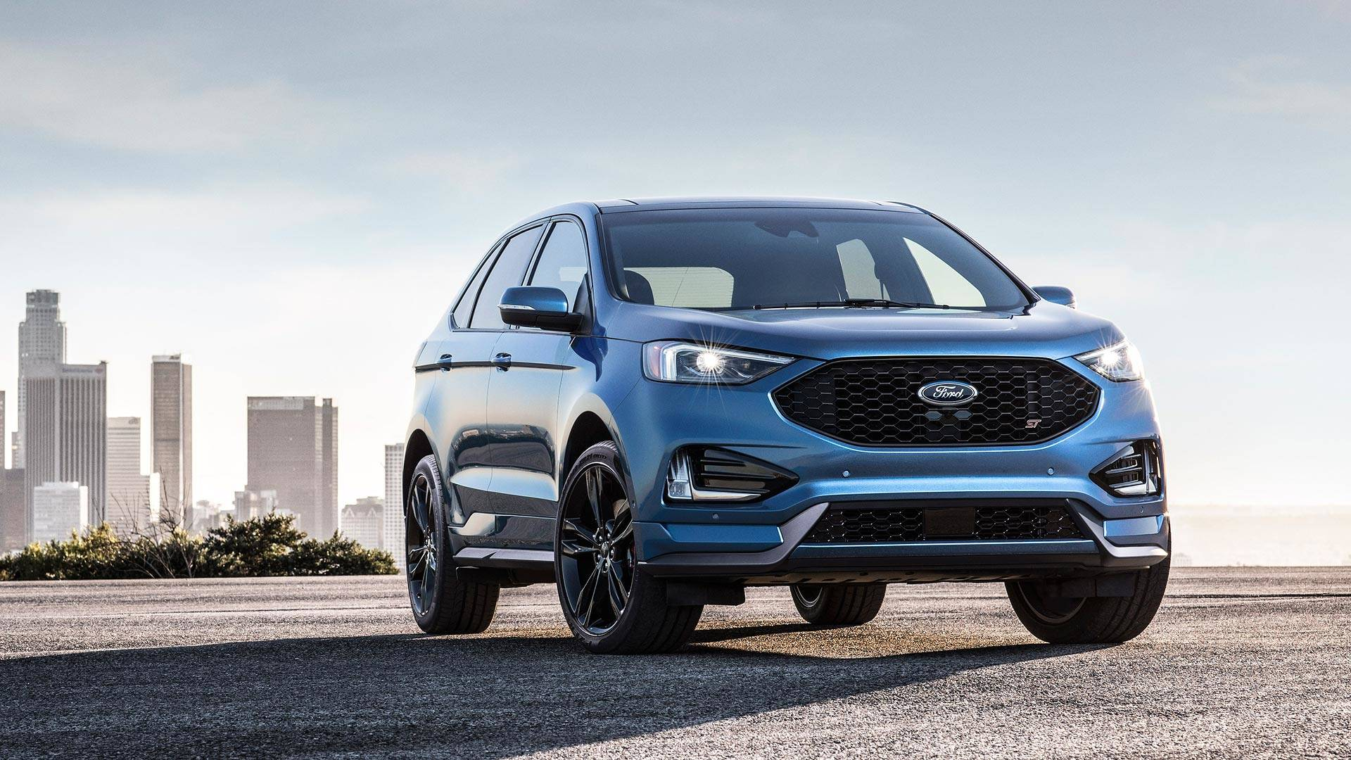 Ford Edge St Debuts With   Liter Ecoboost V