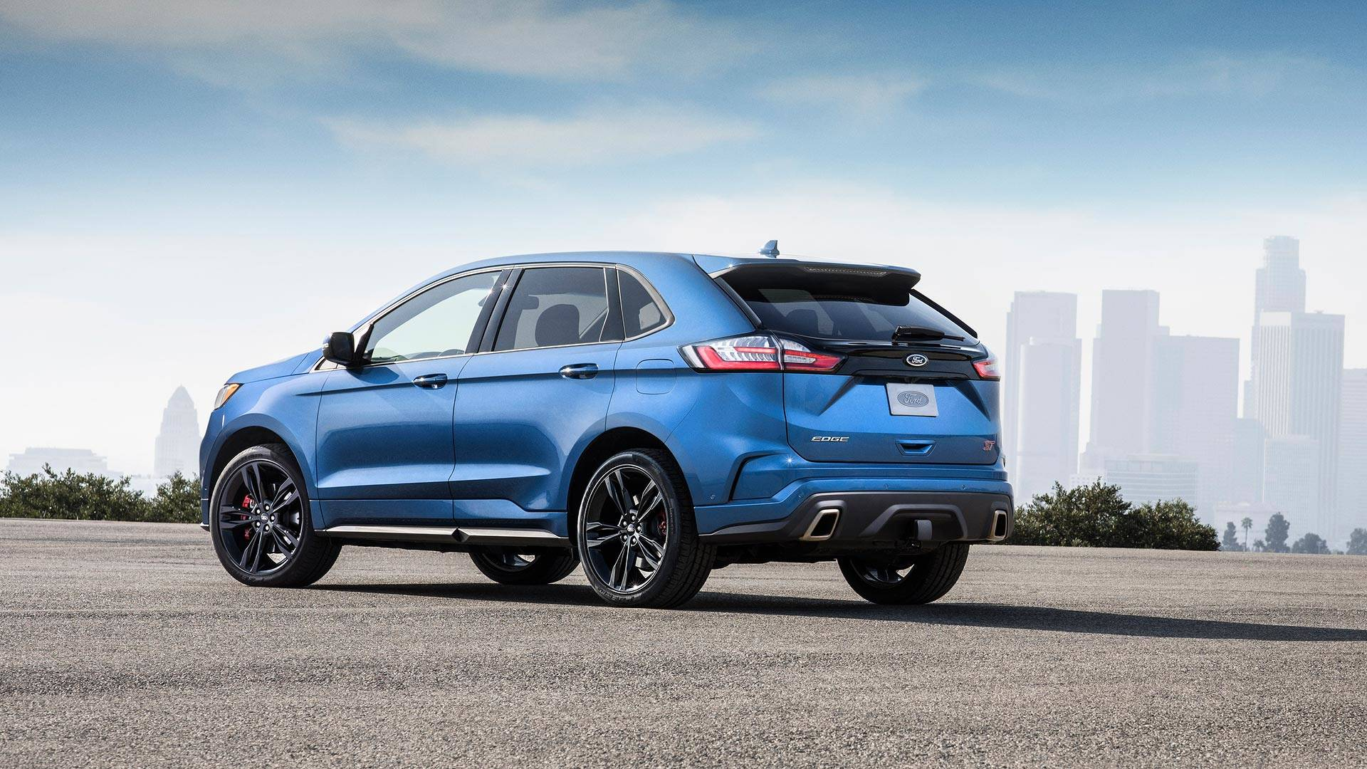 2019 ford edge st debuts with 335 hp 2 7 liter ecoboost v6. Black Bedroom Furniture Sets. Home Design Ideas
