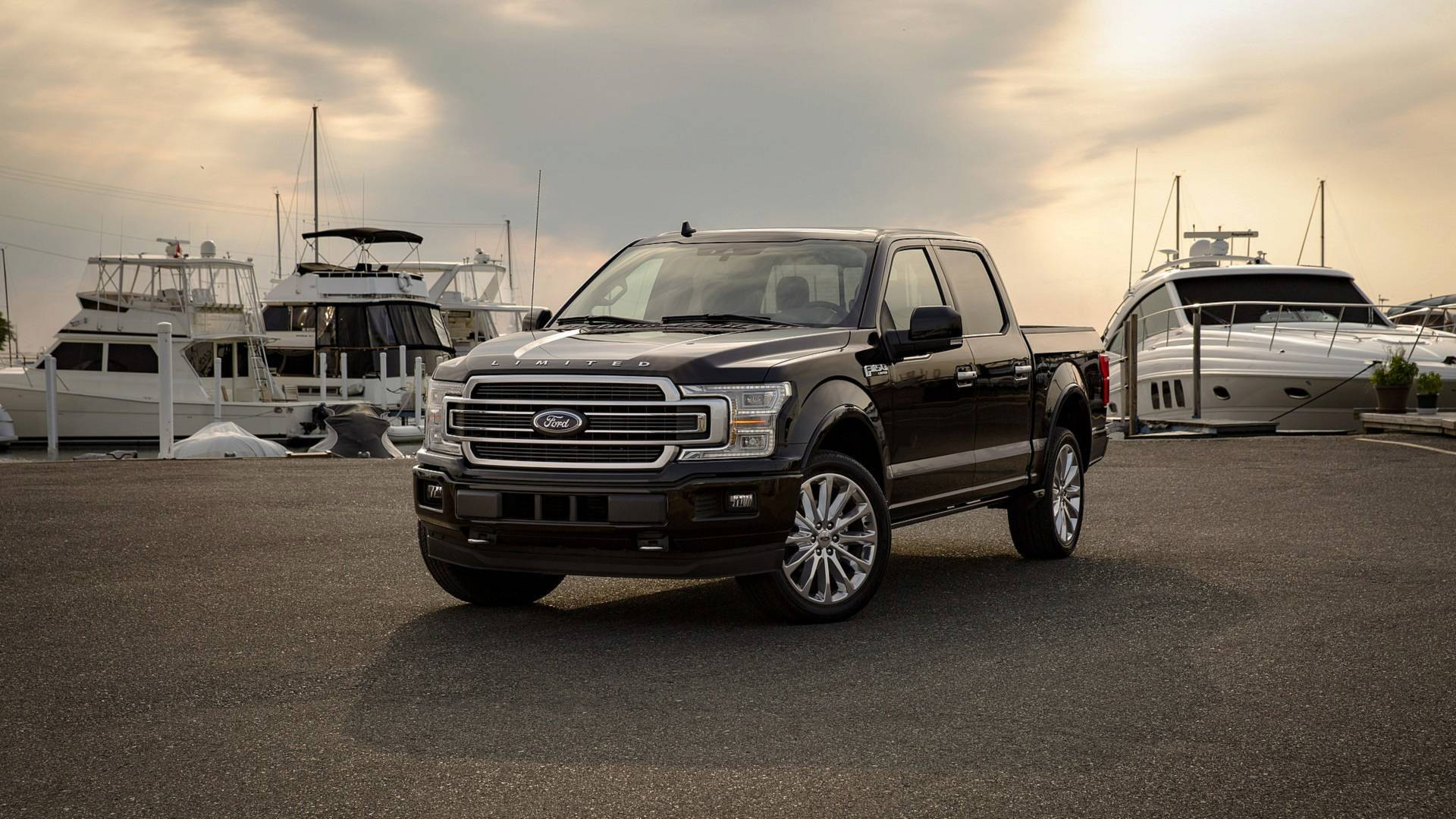2019 ford f 150 limited gains 450 hp ecoboost v6 engine. Black Bedroom Furniture Sets. Home Design Ideas