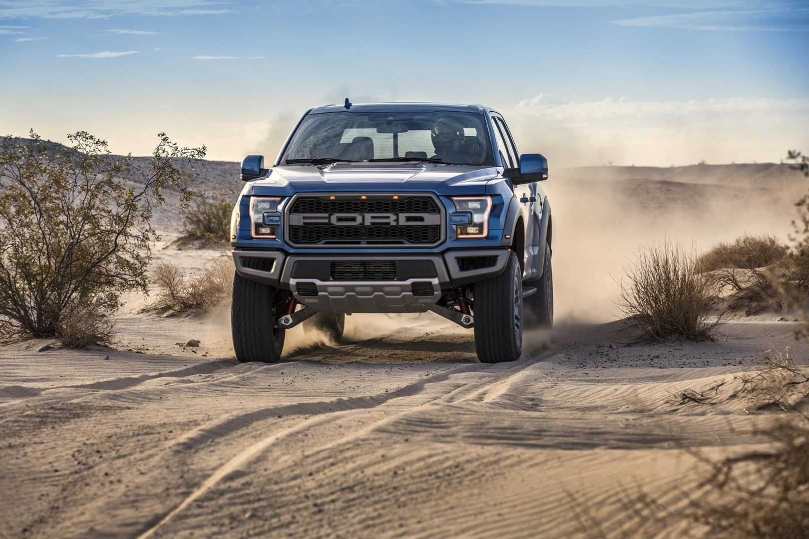 2019 Ford F-150 Raptor Gets Smart Fox Shocks and Trail ...