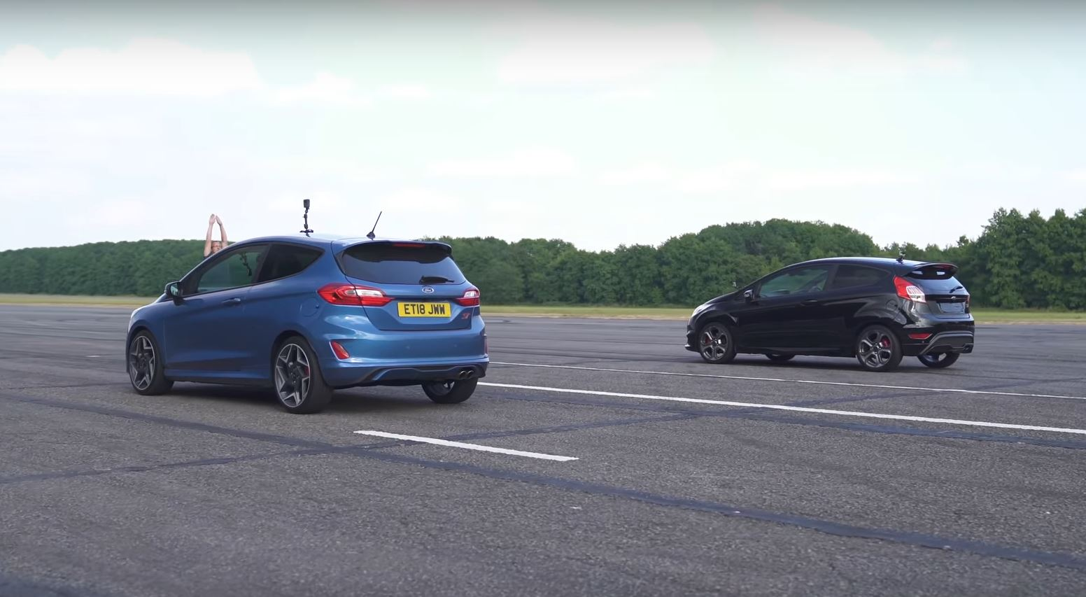 2019 Ford Fiesta St With 1 5l Turbo Is Faster Than Old 1 6l Model