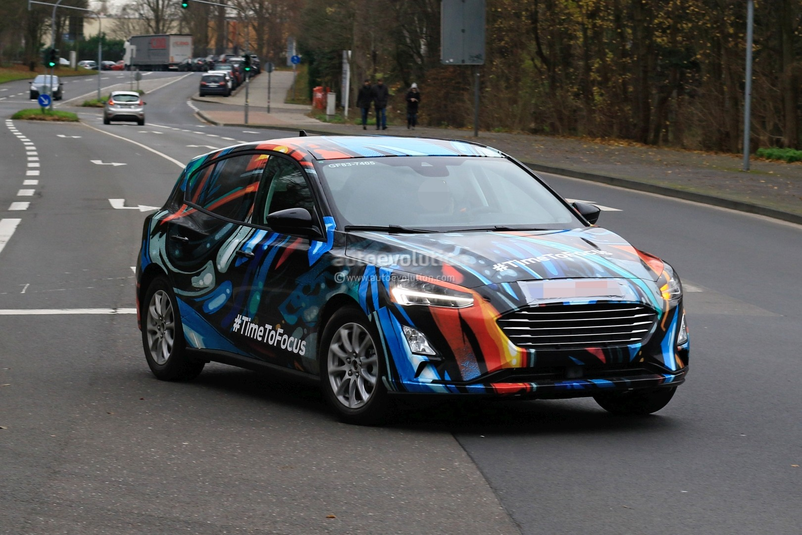 Ford Focus Spied