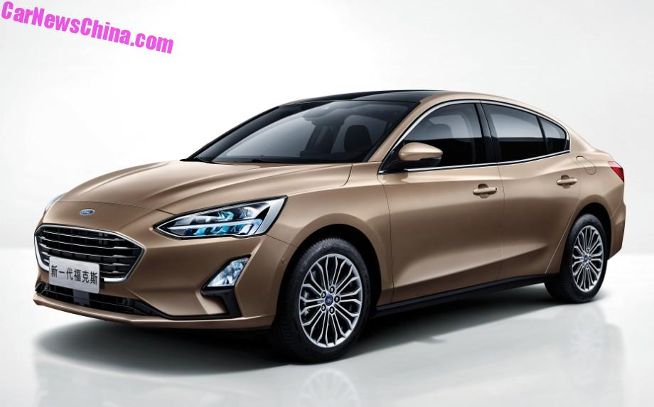 2019 ford focus sedan looks cheap but svelte in chinese specification autoevolution. Black Bedroom Furniture Sets. Home Design Ideas