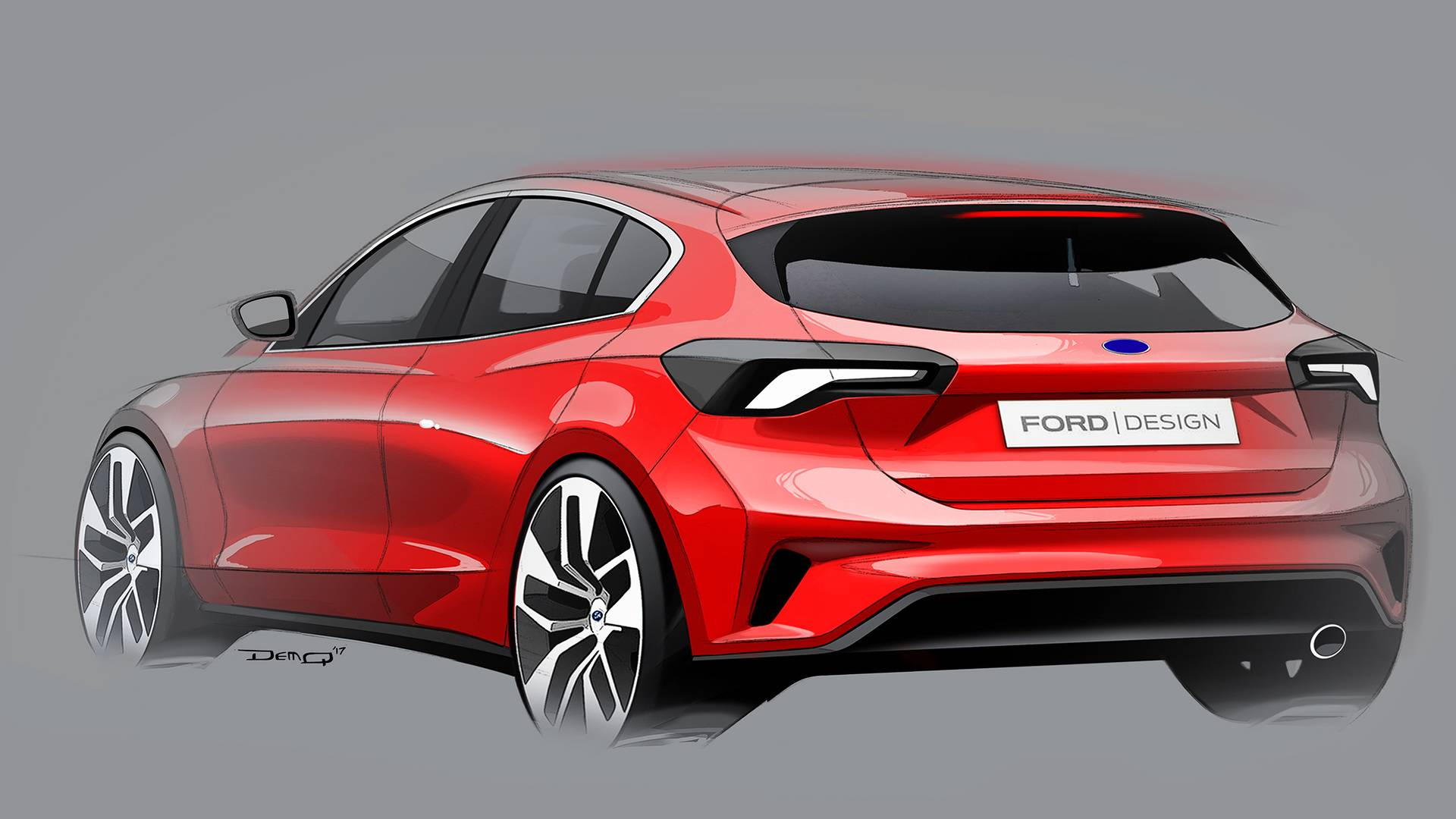 2019 Ford Focus Sedan Looks Cheap But Svelte In Chinese