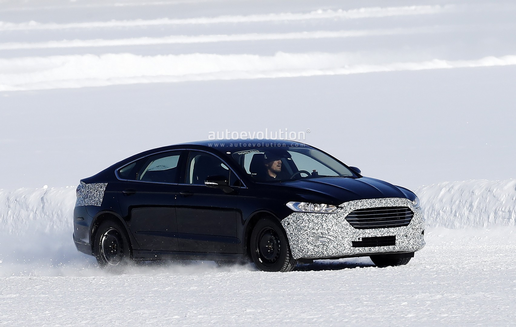 2019 Ford Mondeo Facelift Spied For The First Time In