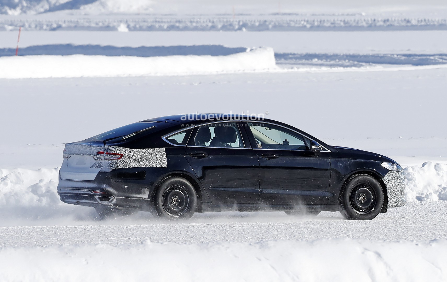 2018 Mondeo Facelift >> 2019 Ford Mondeo Facelift Spied for the First Time in Sweden - autoevolution