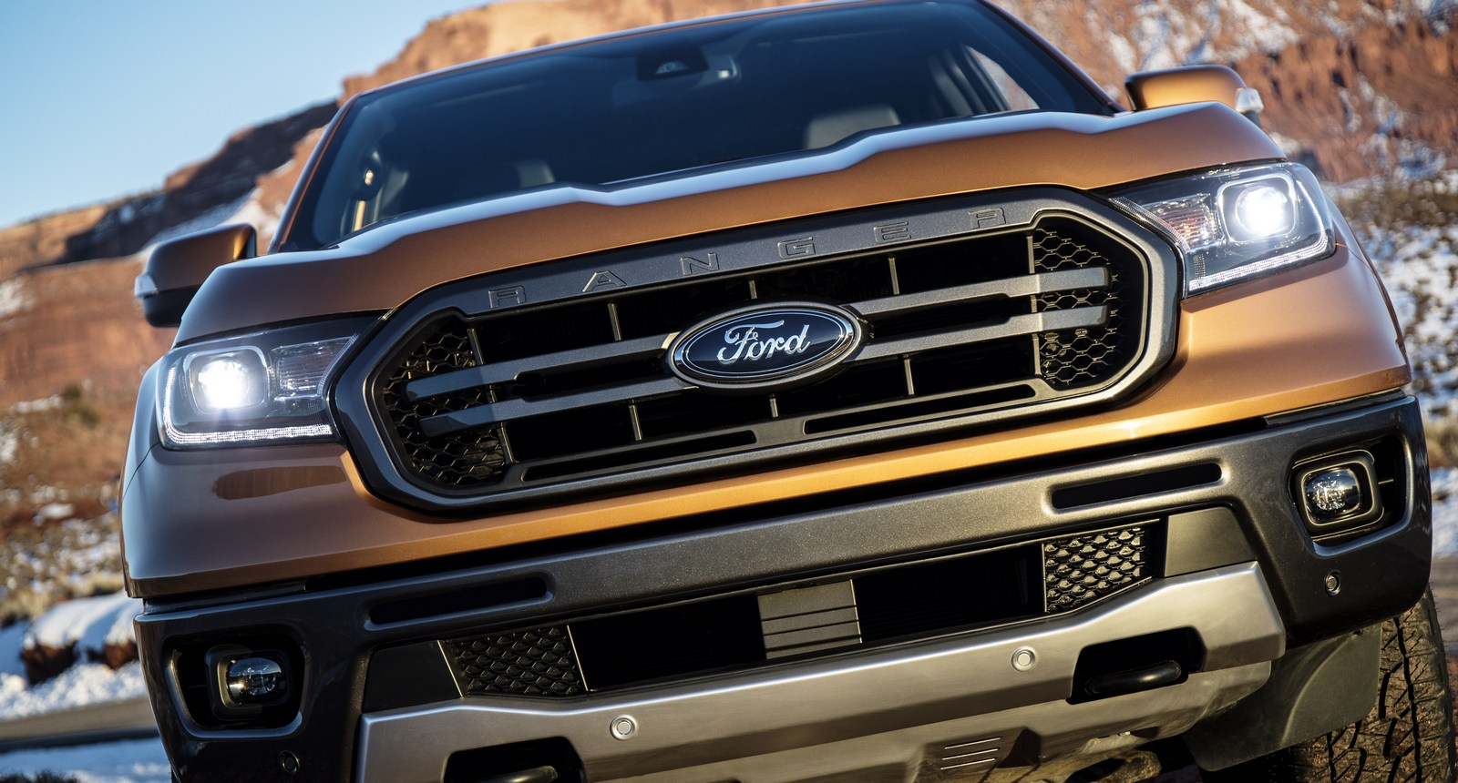 2019 ford ranger with 2 3 liter ecoboost and fx4 off road package