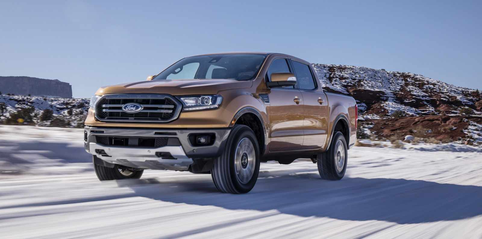 ... 2019 Ford Ranger with 2.3-liter EcoBoost and FX4 Off-Road Package ...