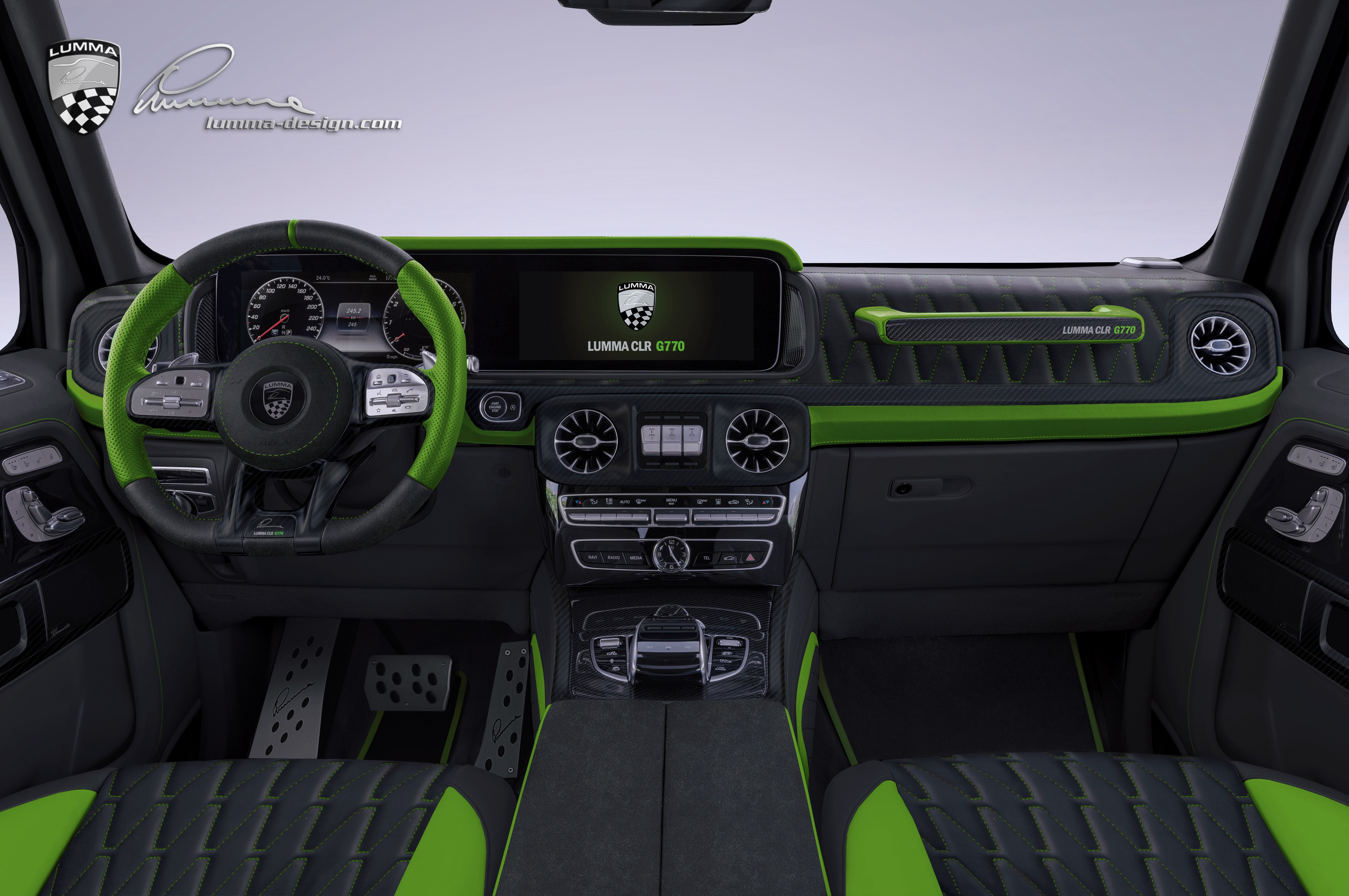 2019 G-Class CLR G770 Body Kit Previewed by Lumma Design - autoevolution