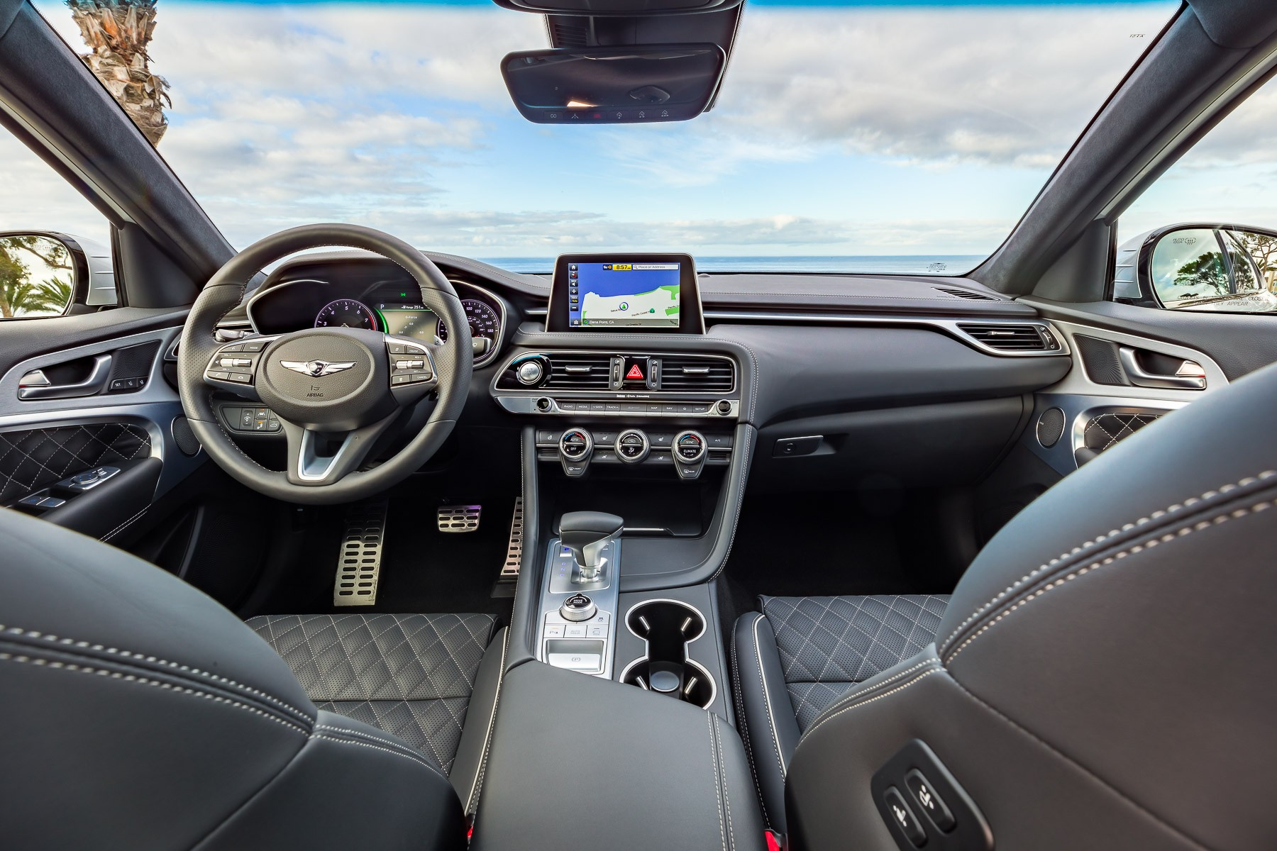 2019 genesis g70 available with manual transmission in the u s autoevolution. Black Bedroom Furniture Sets. Home Design Ideas