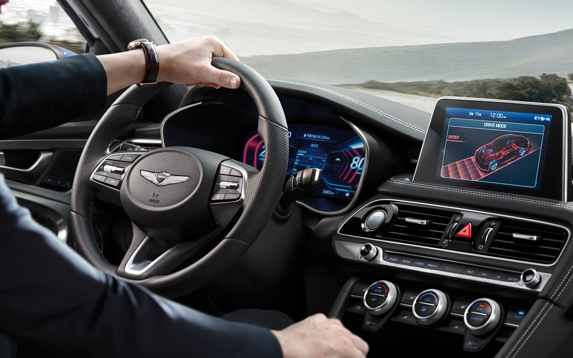 2019 Genesis G70 Now Available With 3d Digital Instrument