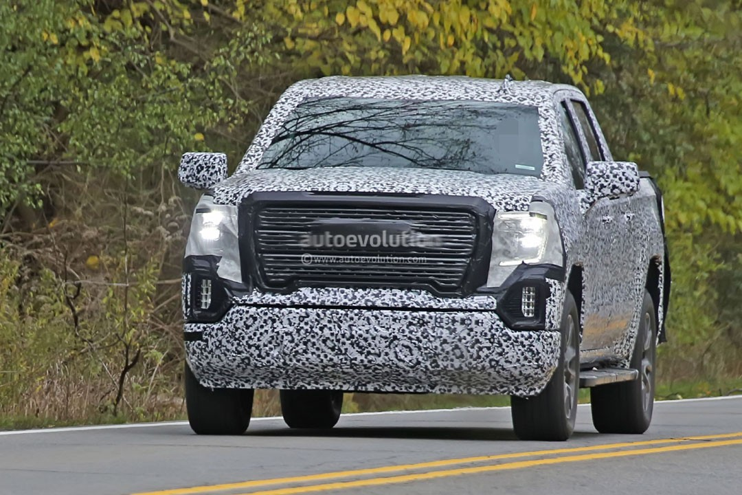Spyshots: 2019 GMC Sierra 1500 Gets Aggressive Grille and ...