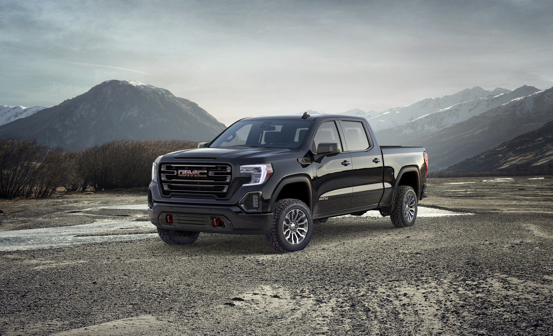 2019 GMC Sierra AT4 Is Made To Venture Off-Road ...