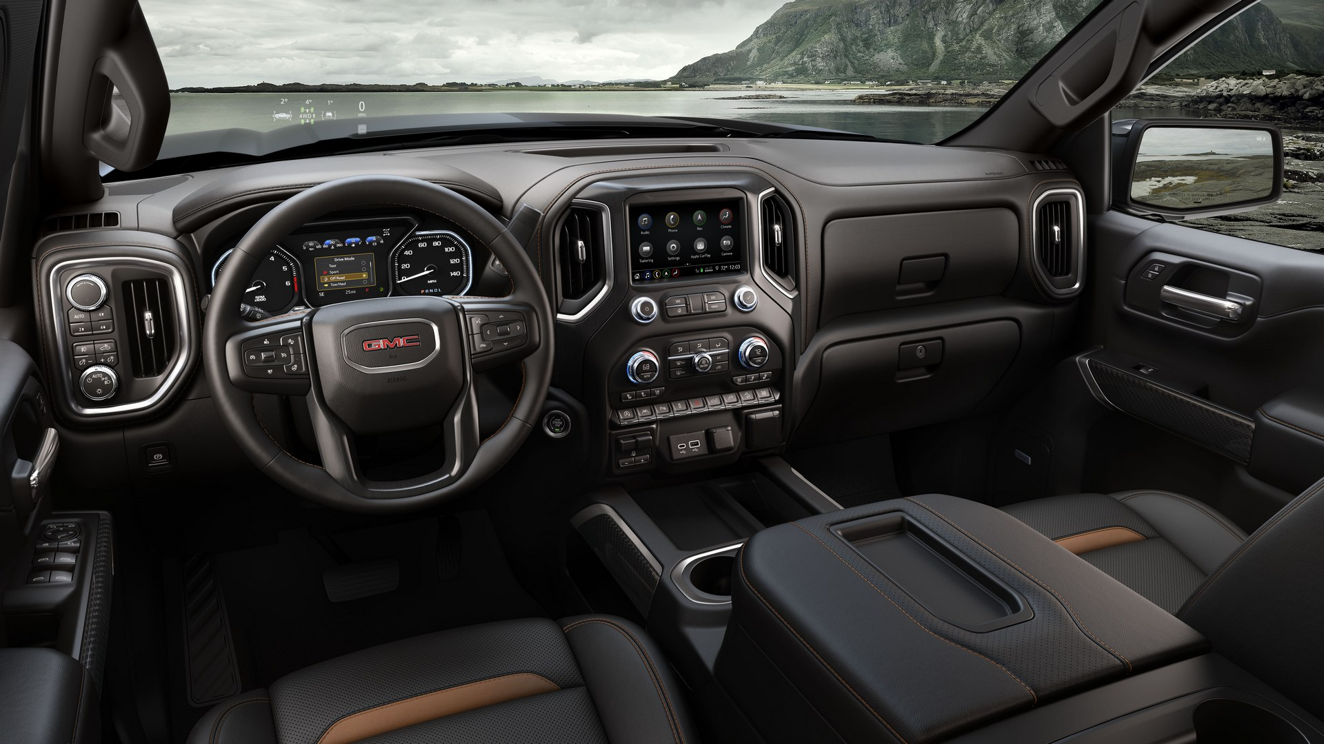 2019 Gmc Sierra At4 Is Made To Venture Off Road