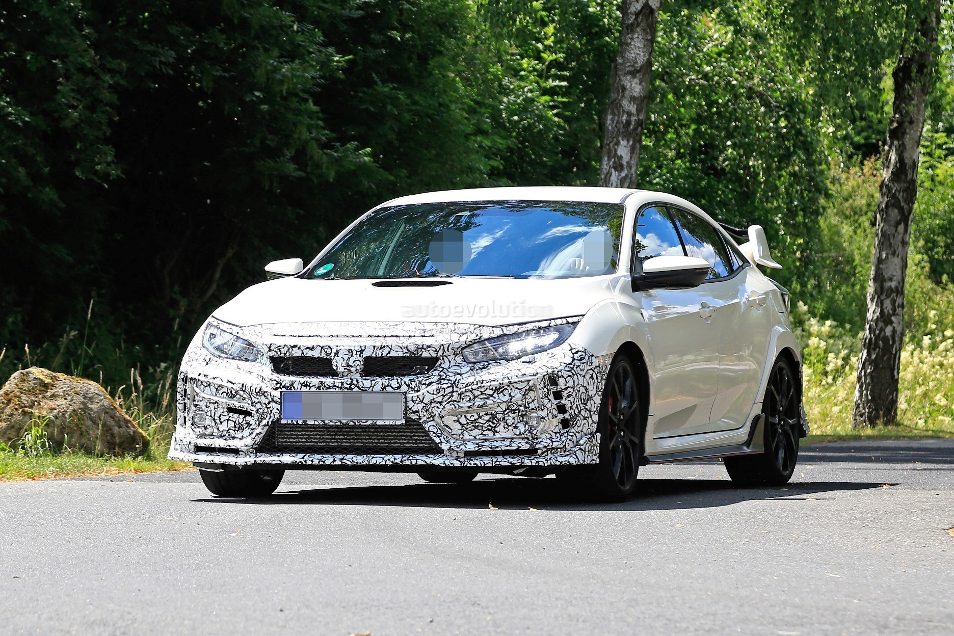 2019 Honda Civic Type R Spied For the First Time ...