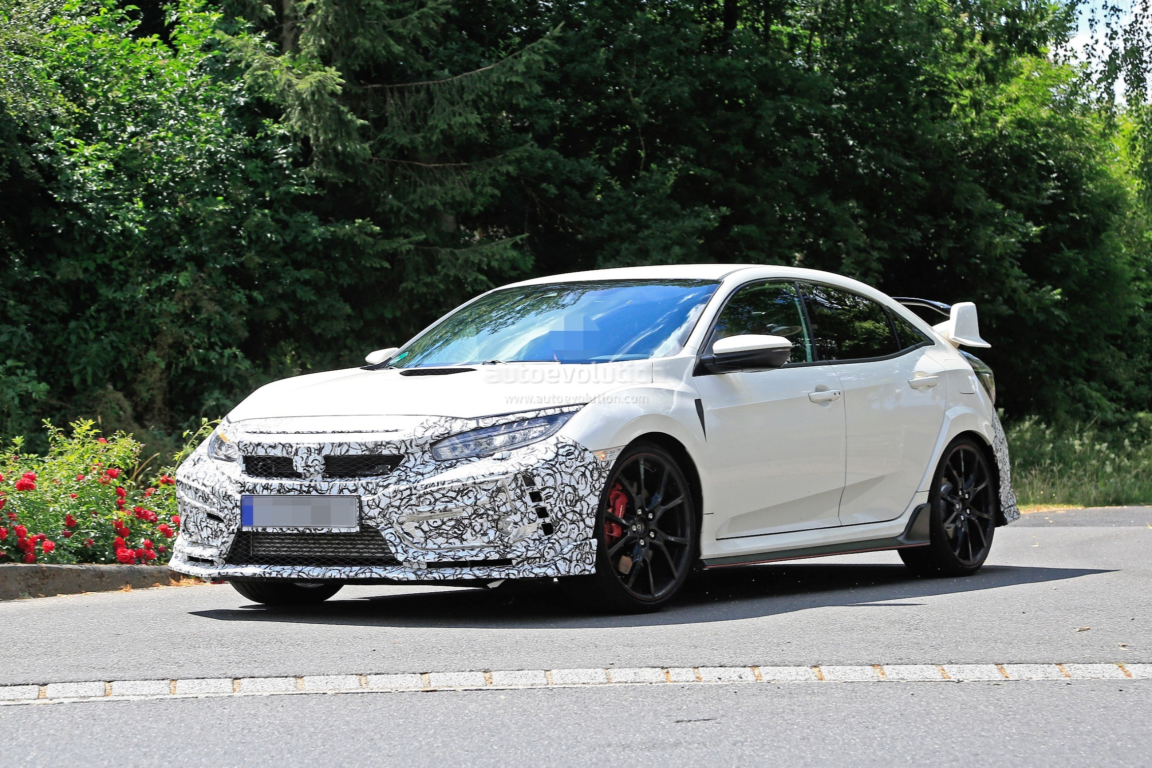 2019 Honda Civic Type R Spied For The First Time